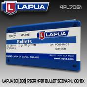 Lapua 4PL7061: 30 cal 175gr Scenar L 100/Box