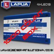 Lapua 4HL6019: 6.5 cal 136gr Scenar Lockbase 1000/Box