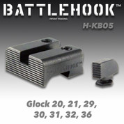 Battlehook H-KB05: Sight Sets For Glock Pistols