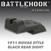 Battlehook H104B-VN: Sight Sets For Volkman 1911 for Novak Cut