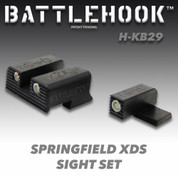 Battlehook H-KB29: Sight Sets (Night) For Springfield XDS
