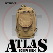 Atlas BT30CB: AccuShot Bipod Pouch, Coyote Brown