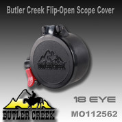 Butler Creek 20180: Flip-Open Scope Cover #18 EYE
