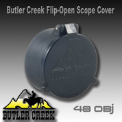 Butler Creek 30480: Flip-Open Scope Cover #48 OBJ