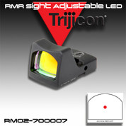 Trijicon 700007: RMR Sight (LED) 6.5 MOA Red Dot RM02
