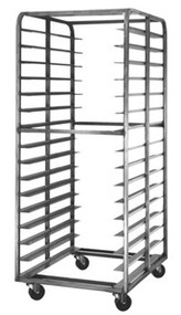 Stainless Steel Double Pan Racks