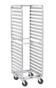 Stainless Steel Single Pan Racks