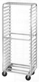 Aluminum Single Side Load Pan Racks