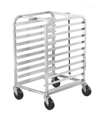 Aluminum Half-Height Pan Racks