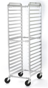 ARS 125 Aluminum Single KD Pan Rack