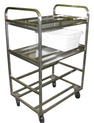 Stainless Steel Meat Tote Cart