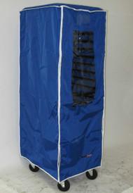 RCD-2227-V-B Blue Double Bun Pan Rack Cover