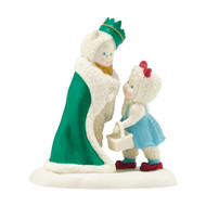 King Of The Forest Snowbaby with Cowardly Lion 4042504 - Department 56 - Introduced in 2014 - Snowbabies Wizard Of Oz Guest Collection - christophersgiftshop.com