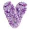 Fuzzy Footies Slippers - Lavender/White - 60015 - Red Carpet Studios - christophersgiftshop.com