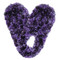 Fuzzy Footies Slippers - Purple/Black - 60026 - Red Carpet Studios - christophersgiftshop.com