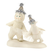 Who Wears It Best Snowbaby with Matching Tiaras 4031866 - Department 56 - Introduced in 2013 - Snowbabies Dream Collection - christophersgiftshop.com