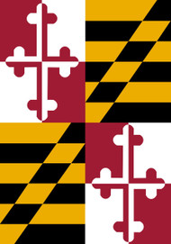 State Of Maryland Mini Garden Flag - 1494FM - Custom Decor - christophersgiftshop.com