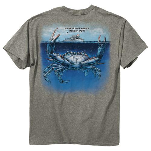 Bigger Pot Mens T-Shirt - 00218 - Maryland Apparel - christophersgiftshop.com