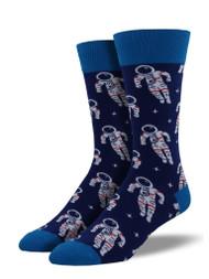 Astronaut Navy Mens Socks