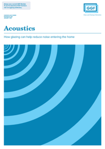Acoustics: How glazing can help reduce noise entering the home (ref: 30.11)