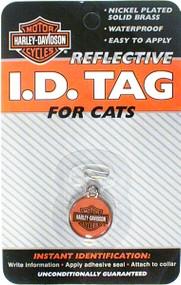 Harley Davidson Cat ID Tag
