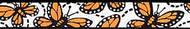 Beastie Band Monarch Butterflies (color as shown)