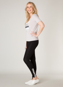 Yest Casual Summer Legging Criss Cross Detail 31025