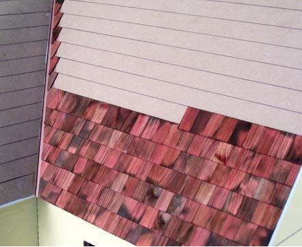 Dollhouse Shingling