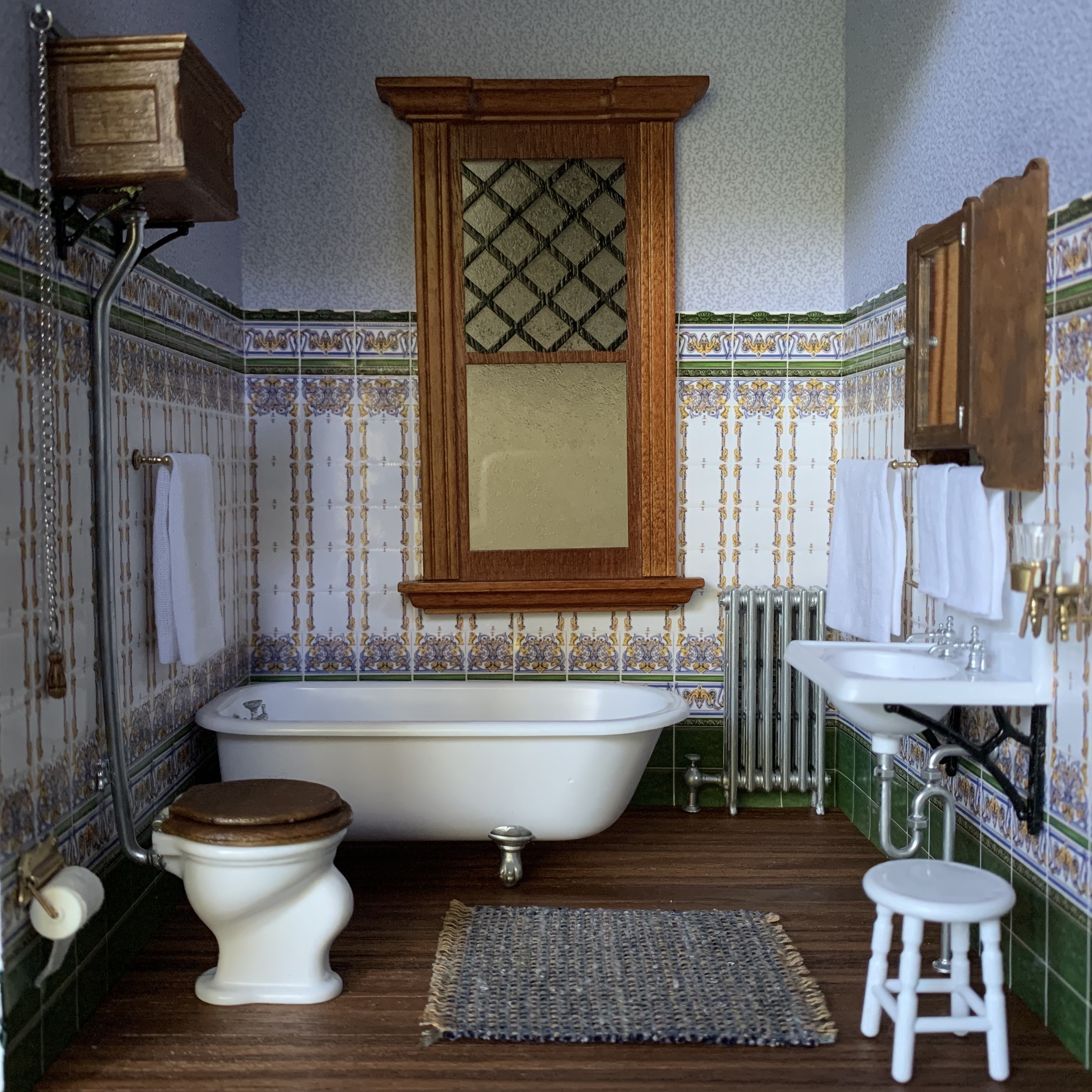 Victorian Bathroom with Chrysnbon Kits