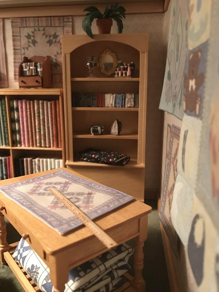 Quilt Shop Corner Angle