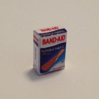 Dollhouse Miniature Box of Adhesive Bandages or Band Aids by Cindi/'s Mini/'s