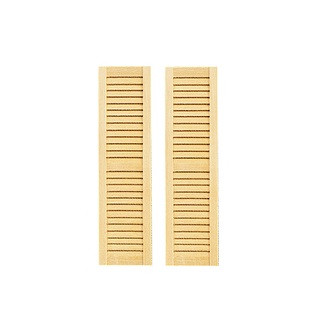 Louvered Shutters (HW5025) - sold as pair