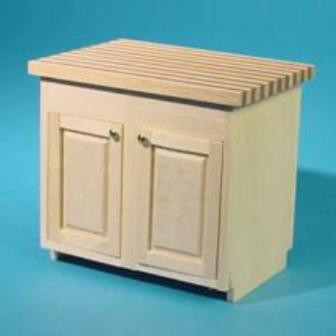 Kitchen Island Kit Jeepers Dollhouse Miniatures