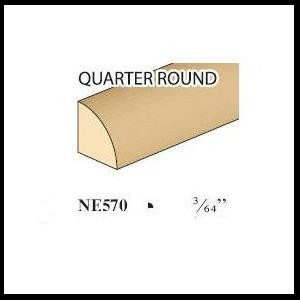 Quarter round image with details