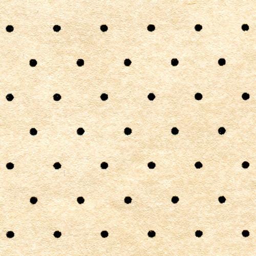 3 Sheets of Mini MiniDots Dollhouse Wallpaper Yellow