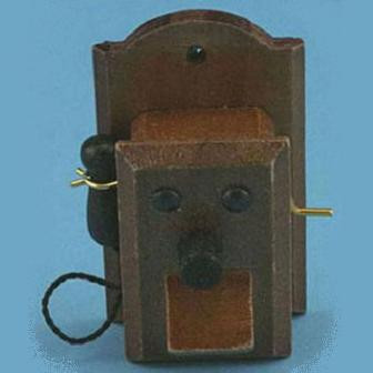 Wood Wall Phone