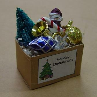 Christmas Dollhouse Decorations.Christmas Decorations