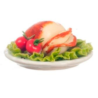 Dollhouse Miniature Sliced Turkey (AZG7127)