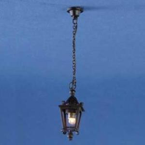 Dollhouse Electrical Lighting Black Ceiling Plate  CK806-1 NEW