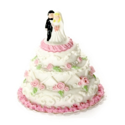 Small Wedding Cake (A1719)