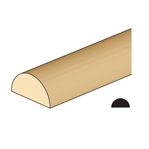 "1/4"" Half Round (NE498) illustration"