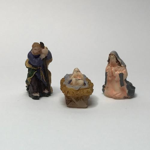 Image of miniature nativity