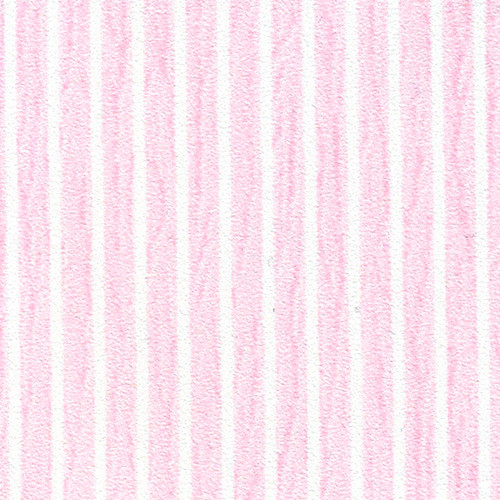 Pink and white stripe wallpaper swatch