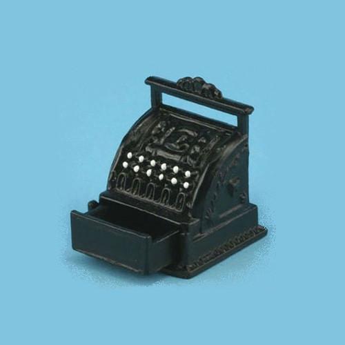 Black miniature cash register