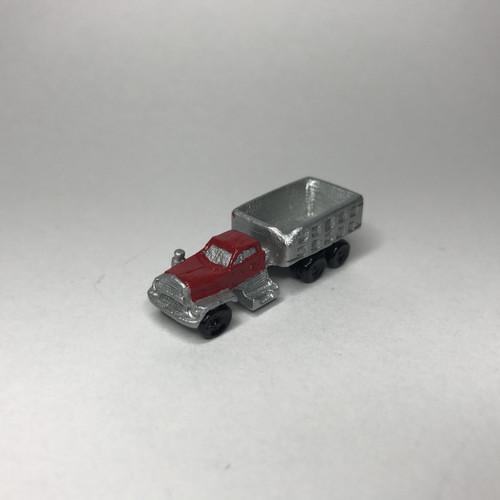 Dollhouse size toy truck