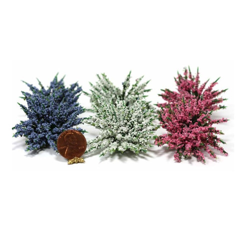 Alternate image of garden delights plants in pink, blue, and white (miniatures)