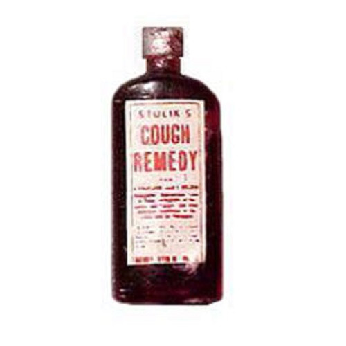 Cough Syrup (HR52084) Dollhouse Miniature Remedy