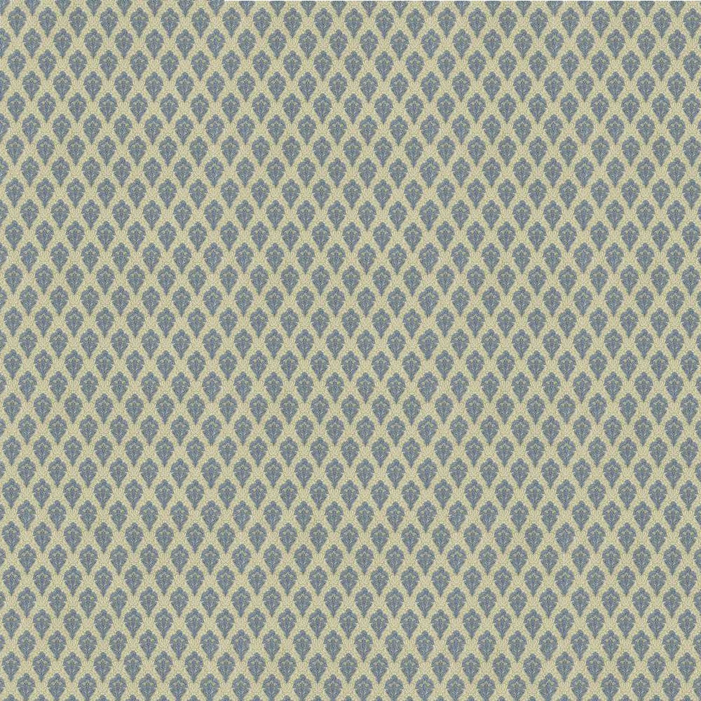Hobarth Blue Wallpaper Jeepers Dollhouse Miniatures