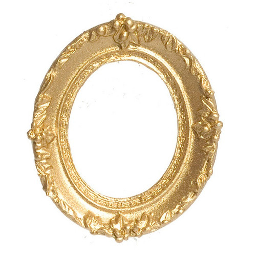 Small gone tone, oval, picture frame