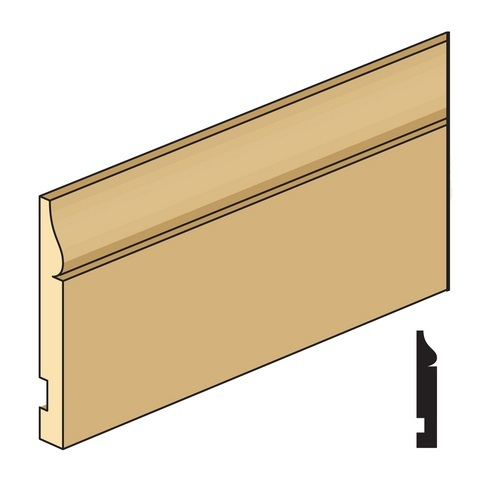 Illustration of baseboard